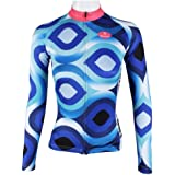 MANSTORE Womens Long Sleeve Special Cycling Jersey WJ01