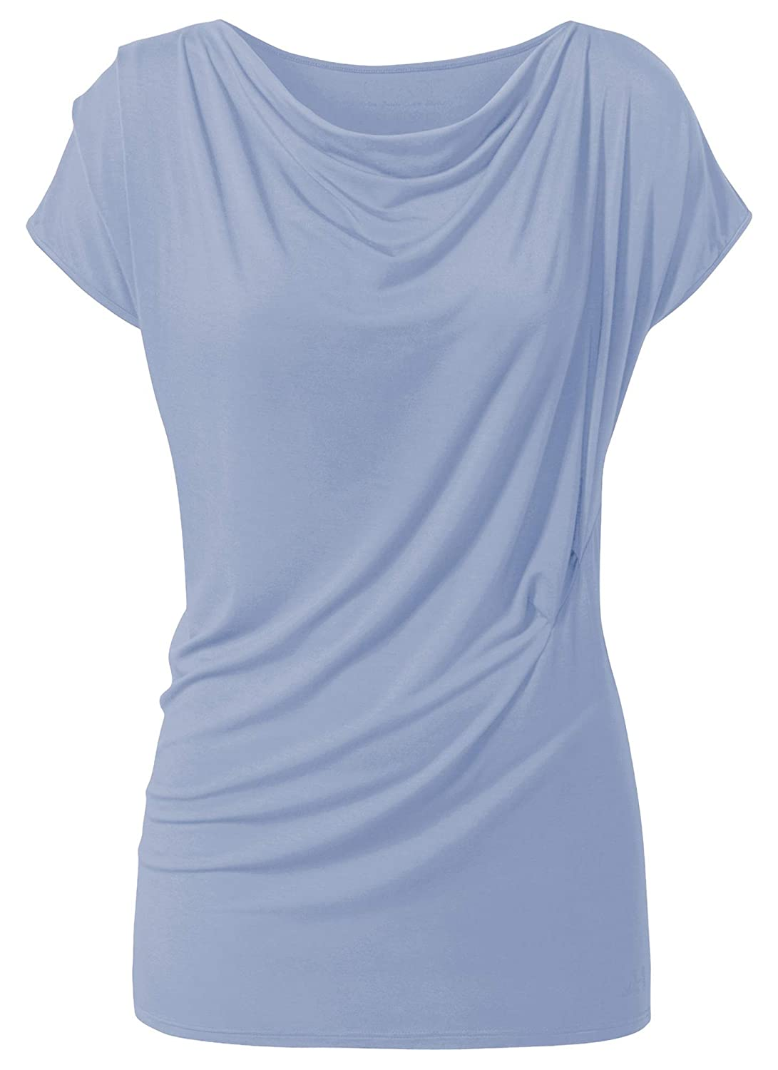 CURARE Yoga de Camiseta Cascada - Blue Moon, Color Azul ...
