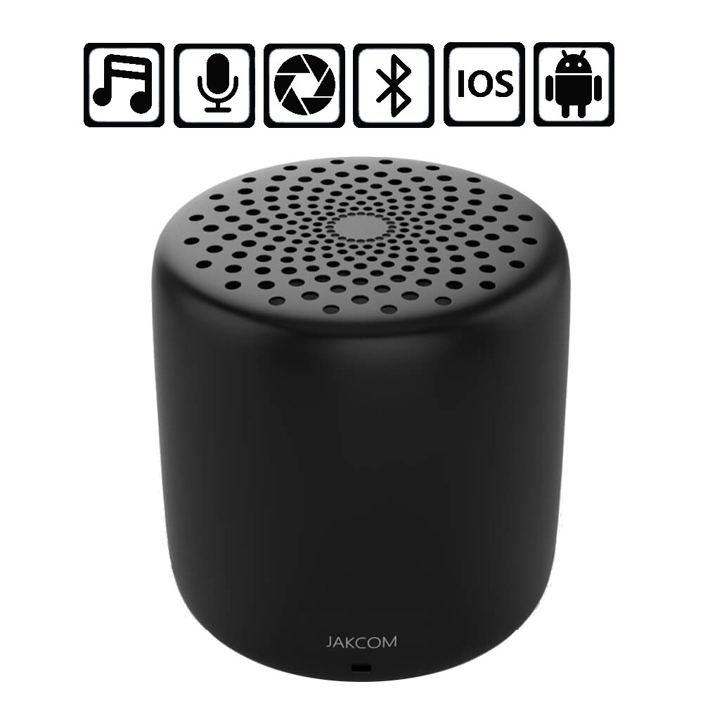 Mini Bluetooth Speaker, Wireless Music Player, Portable Audio Home Theater, Waterproof And Compact Camera Function Is Suitable For Travel by HJJH