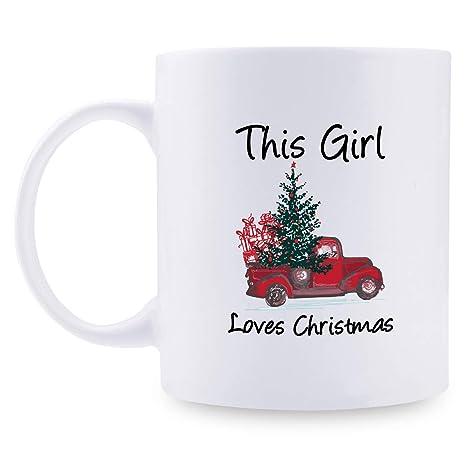 Amazon.com: Tazas de café de regalo de Navidad – Taza de ...