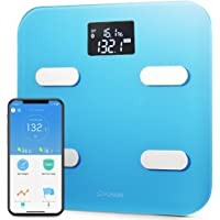 YUNMAI COLOR SMART SCALE BODY FAT COMPOSITION MONITOR APP BLUE