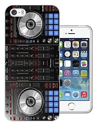1061 - Cool Fun Dj Mixer Turntable Vintage Retro Music Dance Clubber RnB Hip Hop Rave Club Design iphone 5 5S Fashion Trend Silikon Hülle Schutzhülle Schutzcase Gel Rubber Silicone Hülle
