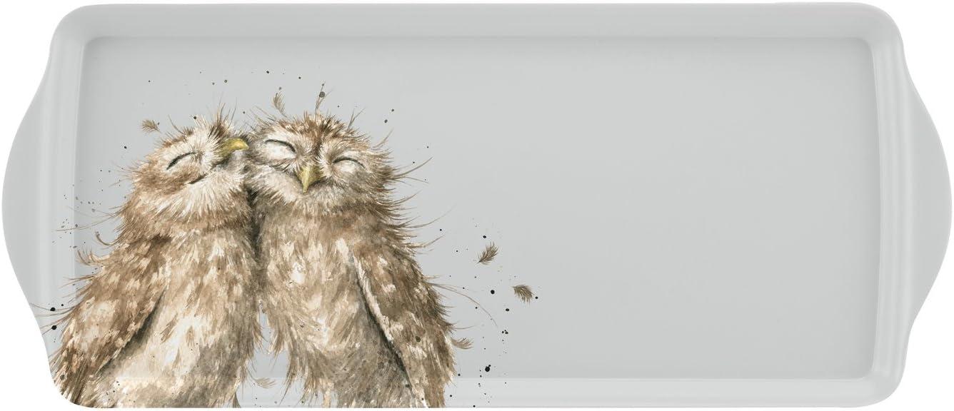 Wrendale Sandwich Tablett Owl