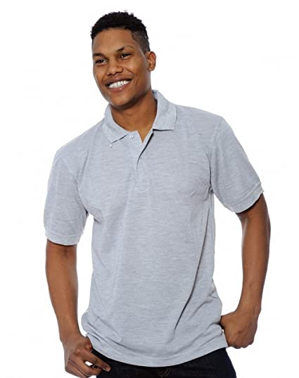 a9c9f040 Enimay Men's Solid Color Plain No Logo Casual Collared Polo Shirt at Amazon  Men's Clothing store: