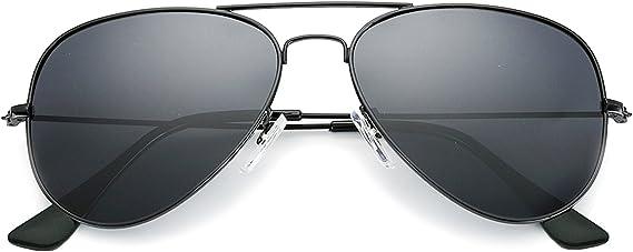 Kid/'s Aviator Sunglasses Ridged Metal Frame UV Protection Boys /& Girls