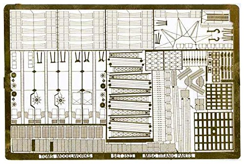 1/350 Toms modelworks etching for Titanic TM3523 USN (350 Toms)