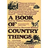 img - for A Book of Country Things book / textbook / text book