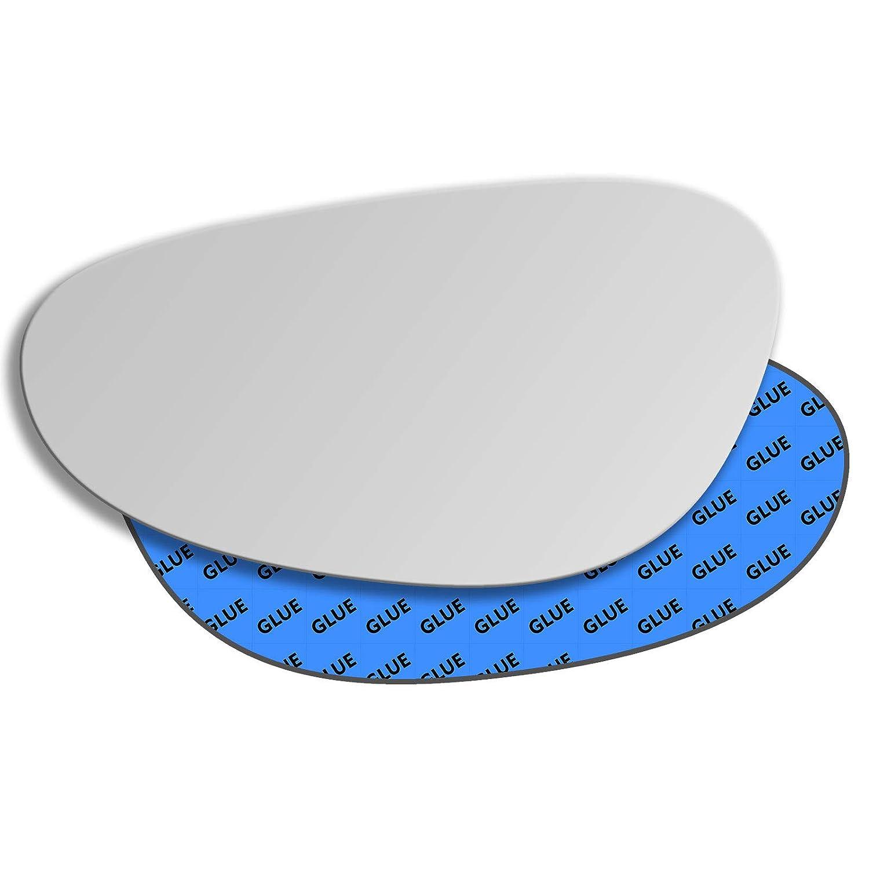 Hightecpl 335LS Left Passenger Side Convex Door Wing Mirror Glass