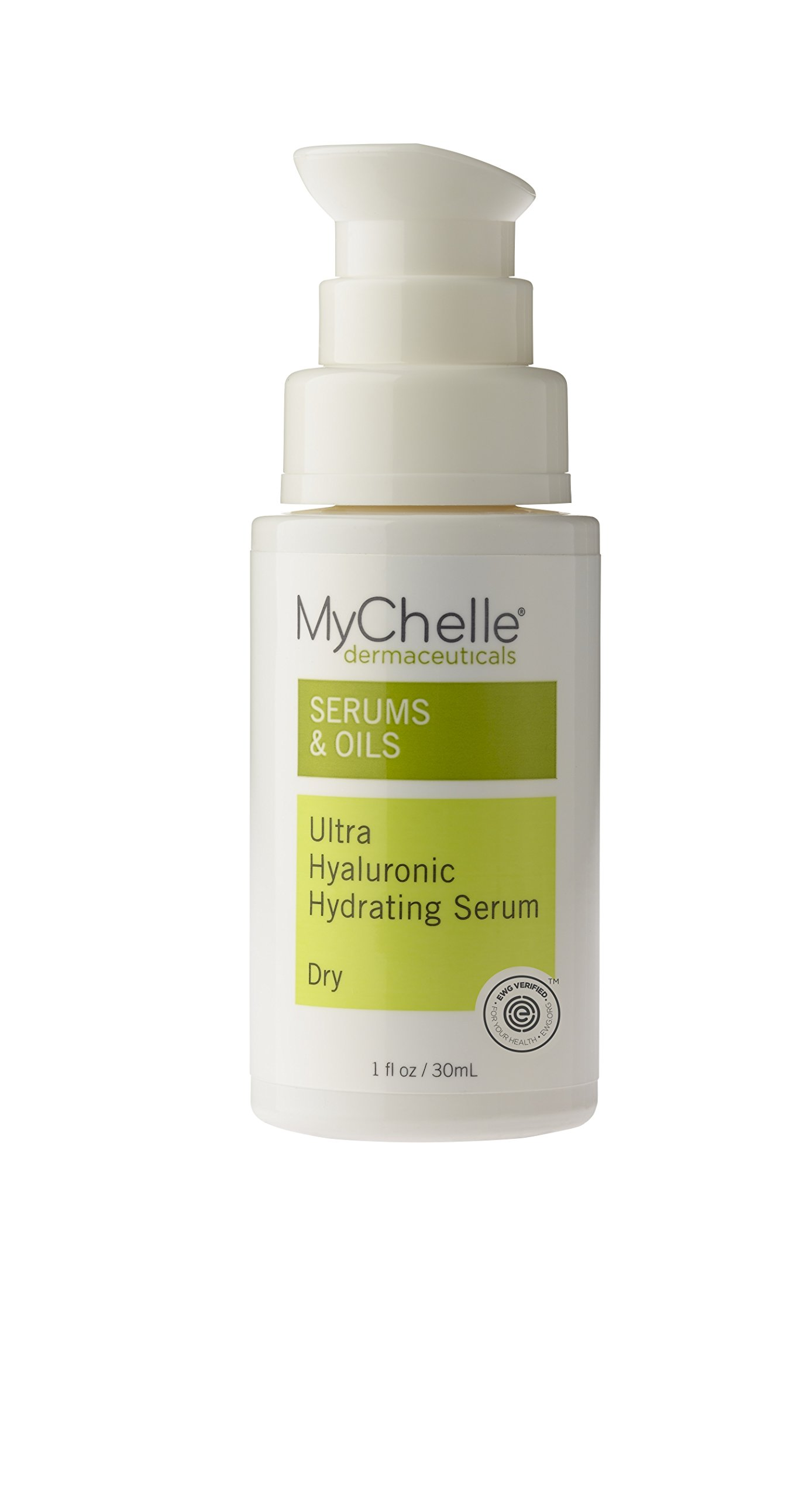 MyChelle Ultra Hyaluronic Hydrating Serum, Hyaluronic Acid Serum for Dry and Normal Skin Types, 1 fl oz