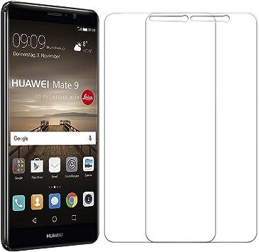 2 Unidades] Protector de Pantalla Huawei Mate 10, Senisttech 0.33 ...