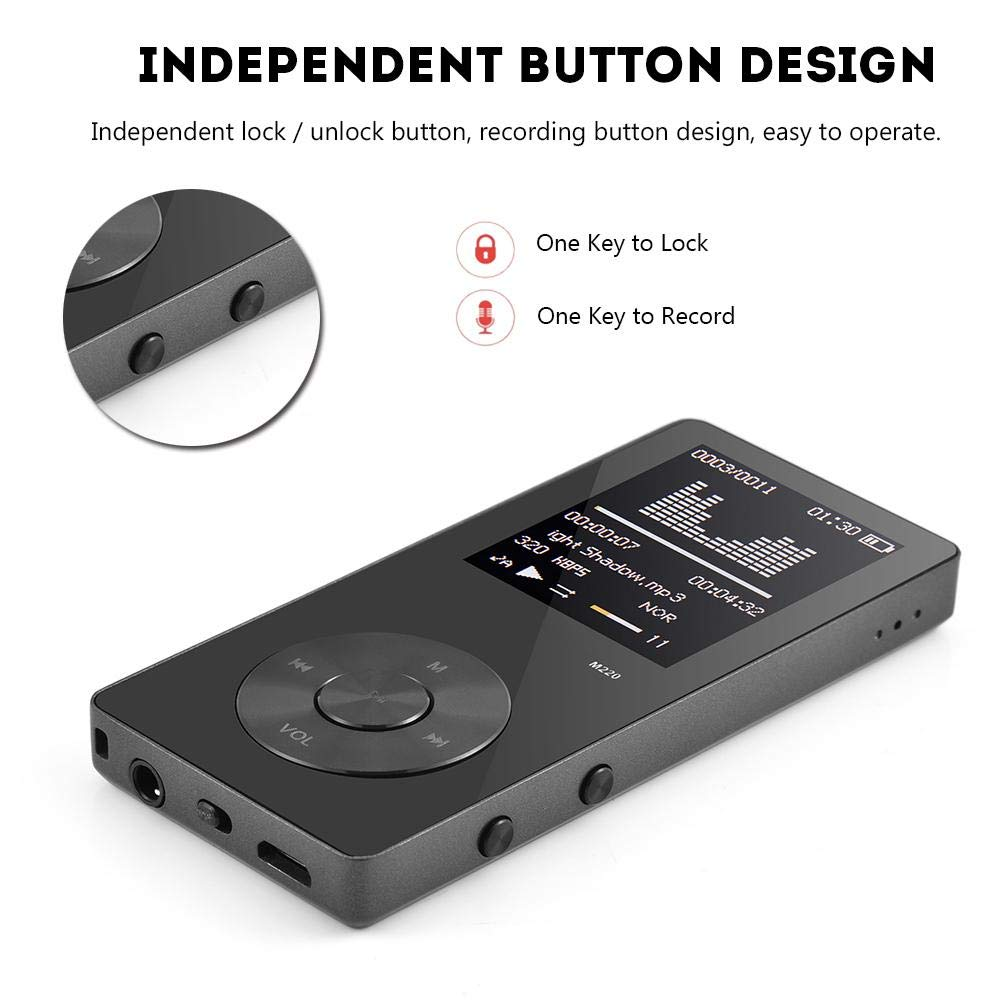 Ciglow MP3 MP4 Player 8GB with FM Radio, Portable Music Video Player with 1.8 Inch Color Screen by Ciglow (Image #6)