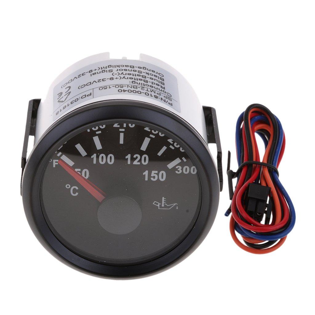 MagiDeal Indicador de Temperatura de Aceite con Alambre para Coche Accesorio de Vehiculó