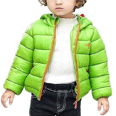 a8728597fec2 Happy Cherry Kids Down Padded Jackets Age 1-5 Winter Warm Up Zipper ...