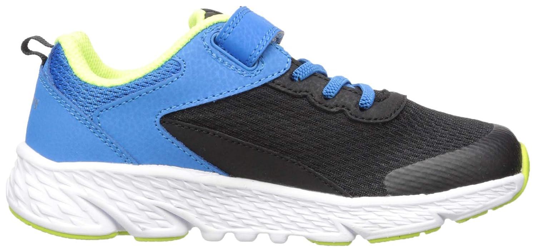Saucony Wind A//C Sneaker Black//Blue 065 Wide US Big Kid