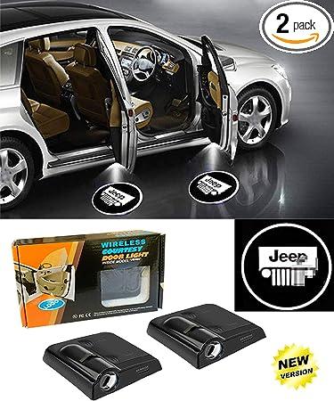 Universal Wireless Car Door Led Projector Lights 2Pcs Car Door Light Projector Compatible with BMW Upgraded Car Door Welcome Logo Projector Lights Compatible with BMW All Car Models