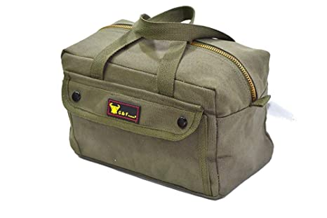 Olive Green Heavy Weight Tool Bag