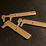 NBYT Portable Mini vernier caliper brass outdoor EDC tool measuring ruler Man playing retro copper