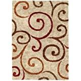 Amazoncom Better Homes and Gardens Iron Fleur Area Rug Kitchen