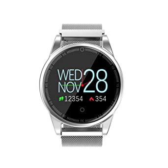 Amazon.com: Sandistore Smart Watch for Android/iOS Phones ...