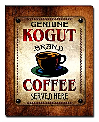ZuWEE Kogut Family Coffee Gallery Wrapped Canvas Print