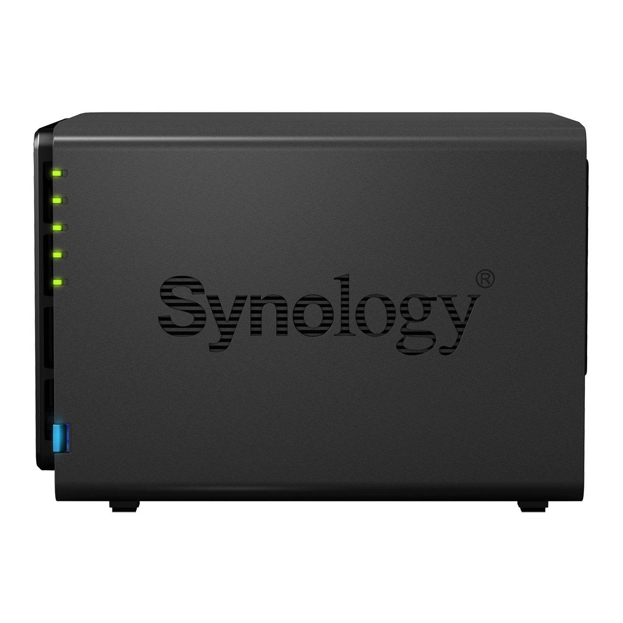 Synology DiskStation DS916+ NAS Escritorio Ethernet Negro - Unidad Raid (12 TB, SSD, Unidad de Disco Duro, SSD, Serial ATA II, Serial ATA III, 3000 GB, ...