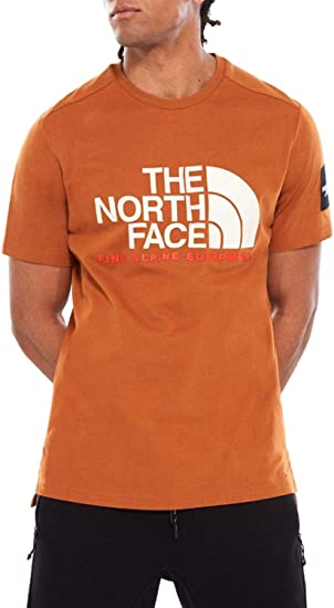 The North Face Camiseta Fine Naranja Hombre S Naranja: Amazon.es: Ropa y accesorios