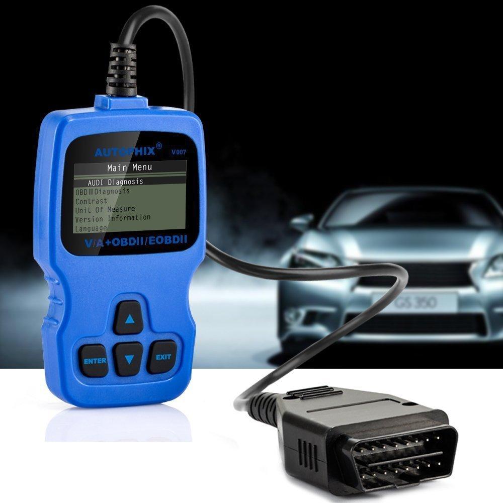 Yipin Diagnosegert Eobd Obd2 Scanner Autountersttzung Die Meisten Audi Obd Wiring Systemen Liest Und Lscht Motor Abs Airbag Automatikgetriebe Weitere Steuerteile Auf