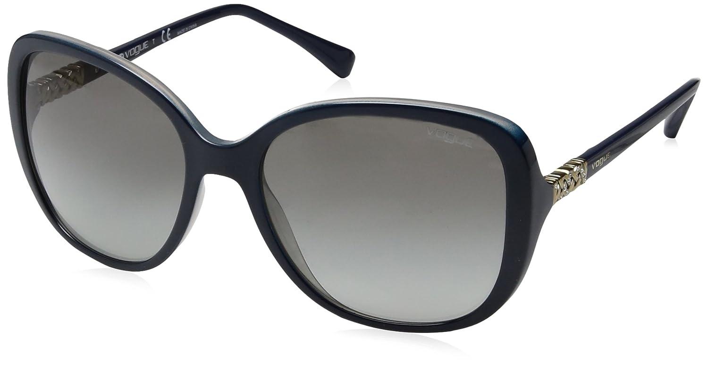 Vogue 0Vo5154Sb Gafas de sol, Top Grey/Opal Blue, 56 para ...