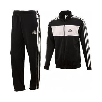 34d2e59ccf32e adidas pour Homme Survetement Ensemble, Pantalons, Joggeurs, Veste Top - Noir  et Blanc