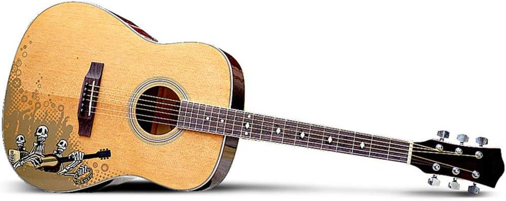 DEAR-JY Guitarra Folklórica, Guitarra Folk 41 Pulgadas Serie Masculina Y Femenina De Guitarra para Principiantes Entrada De Principiante para Amantes De La Música Guitarra