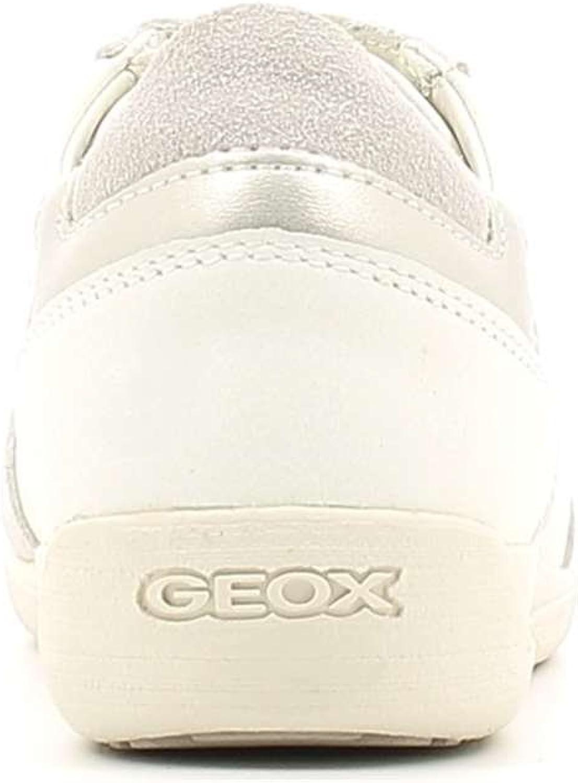 Odio evitar Manuscrito  Geox , Baskets Mode pour Femme Ivoire Off White,: Amazon