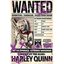 """Suicide Squad Poster - Harley Quinn Wanted (24""""x36"""")"""