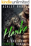Hawke: A Bad Boy Fighter Romance (With bonus book Sons of Flame MC)