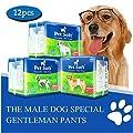 Pet Soft Disposable Male Wrap Dog Diaper by Pet Soft
