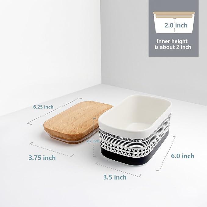 Amazon.com: Sweese - Mantequera hermética de porcelana con ...