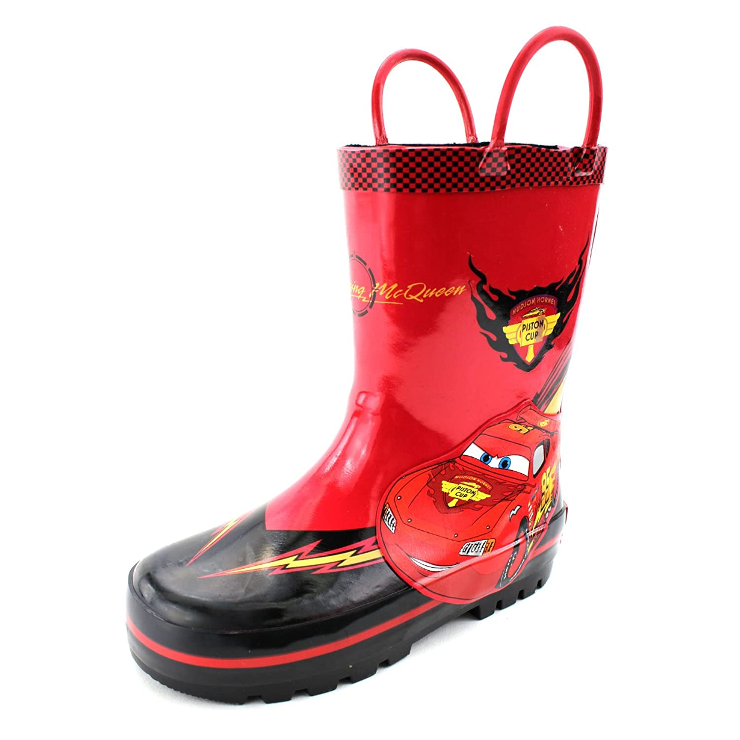 Disney Cars Boys Rain Boots