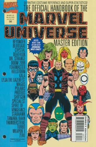 Official Handbook of The Marvel Universe Master Edition #35