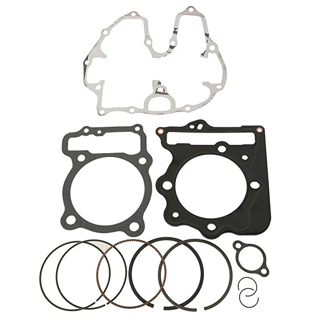 Amazon Com Xmt Moto New Piston Cylinder Gasket Rings Top End Kit