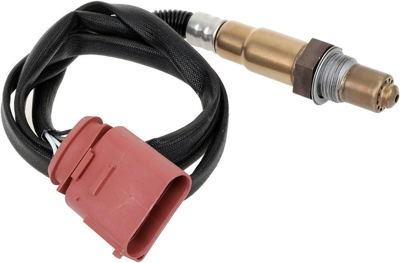 Kwiksen 4pcs Upstream and Downstream Air Fuel Ratio Oxygen Sensor 1 Sensor 2 Compatible with Volkswagen Touareg V6-3.2L 2004-2006