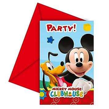 Ratón Mickey - Fiesta Tarjetas De Invitación Tarjetas ...