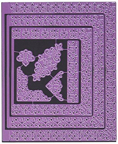 Cheery Lynn Designs B701 Fleur Delis A2 Card Facer Die Cuts