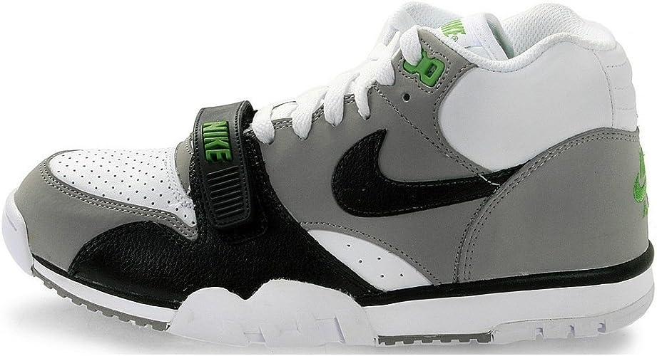 Nike Air Trainer 1 Mid PRM Chlorophyll, Blanco (blanco), 44.5: Amazon.es: Zapatos y complementos