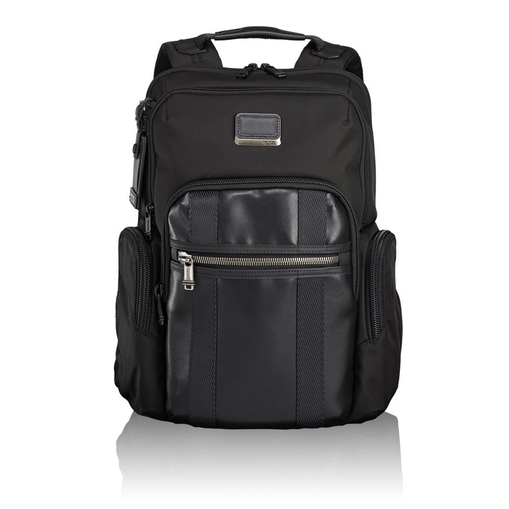 Tumi Men's Alpha Bravo Nellis Backpack, Black, One Size