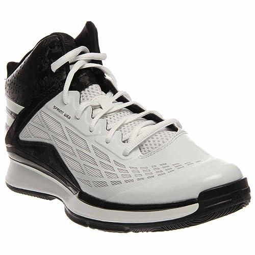 adidas Rendimiento Hombre Transcend Zapatillas de Baloncesto, Multi (Blanco/Negro), 5,5 D(M) US: Amazon.es: Zapatos y complementos