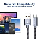 USB Type C Cable,JSAUX(2-Pack 6.6FT)USB-C to USB A