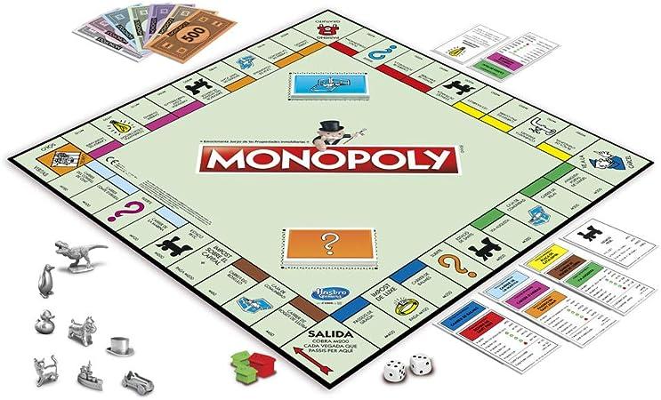 Monopoly C1009118 - Edición Cataluña, Calles de Barcelona: Amazon.es: Juguetes y juegos