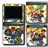 Pokemon Go Pikachu Ash Brock Cartoon Video Game Vinyl Decal Skin Sticker Cover for Nintendo GBA SP Gameboy Advance System