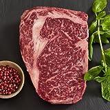 Wagyu Beef Rib Eye Steak - Marble Grade 8 - Whole, Cut To Order - 11 lbs cut to 2-inch steaks