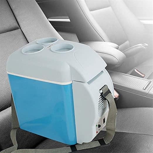 7.5L Portable Car Refrigerator Cooler Warmer Freezer 12V Mini Warming and Cooling Vehicle Fridge