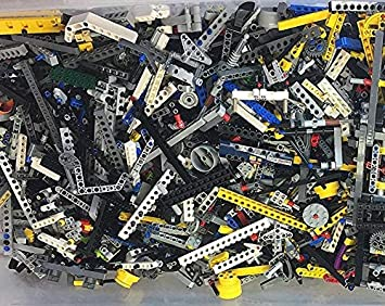 Pounds Lego Lot  Parts /& Pieces   Full USPS Priority Flat Rate Medium Box 4